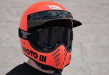 Bell Moto 3 Helmet Orange