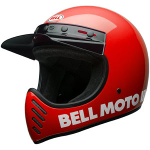 Bell Moto 3 Red
