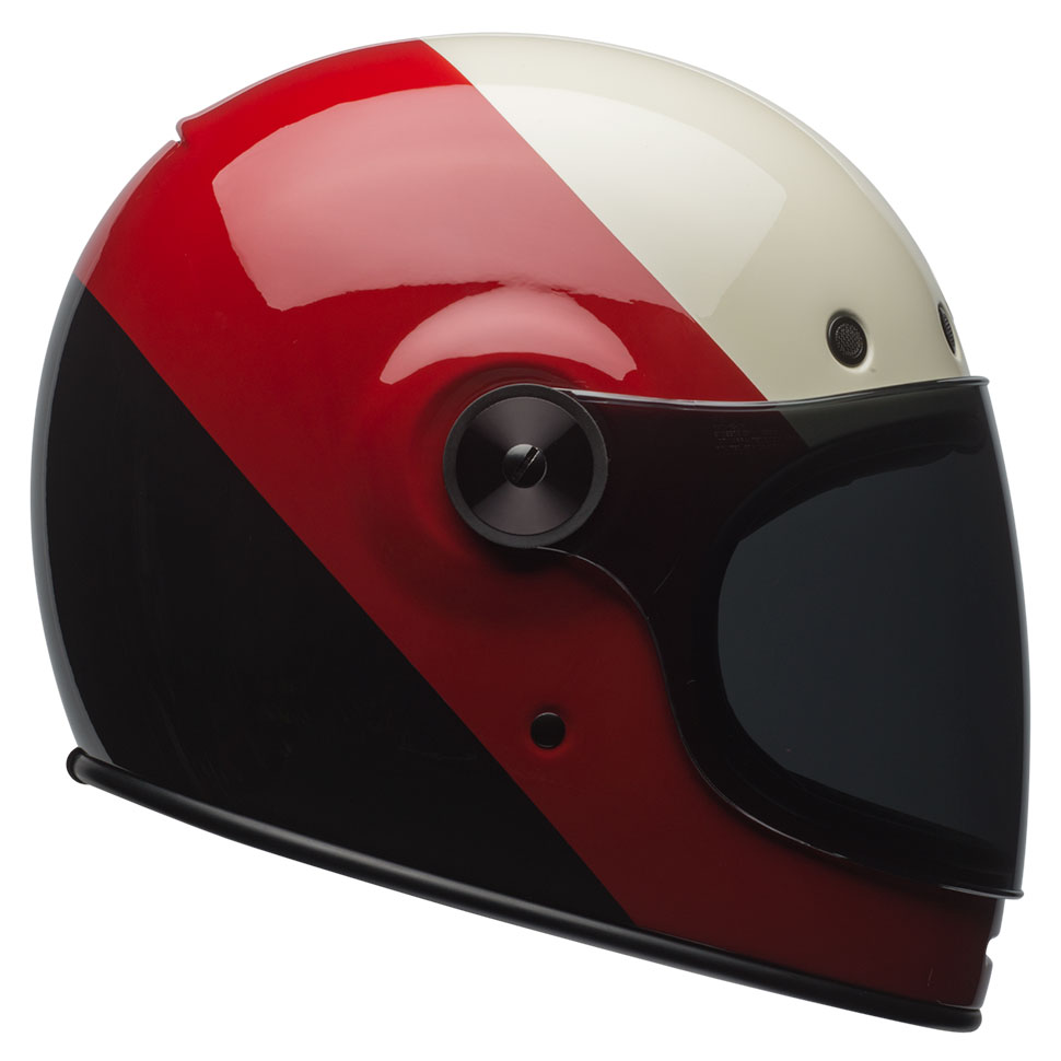 Bell Bullitt Triple Threat Red Black Helmet