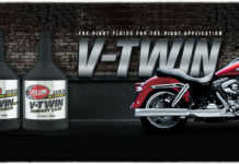 Red Line Oil V-Twin Banner