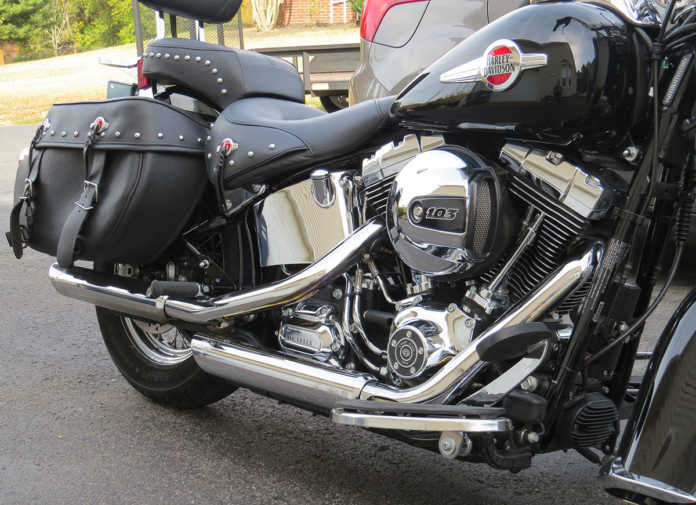 Vance and Hines Twin Slash Slip-Ons