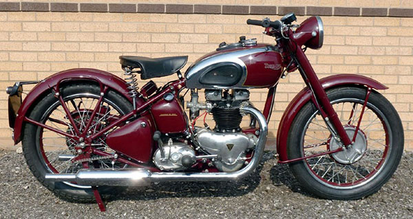 1945 Triumph Speed Motorcycle