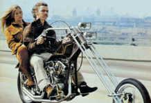 1970's Chopper Motorcycle