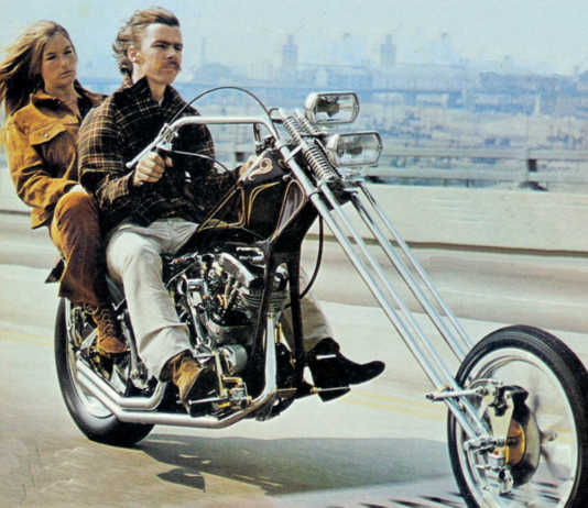 1970's Chopper Motorcycle