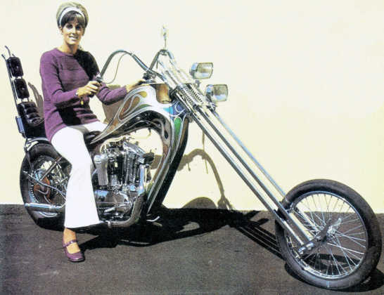 early 1960s Harley Sportster Chopper