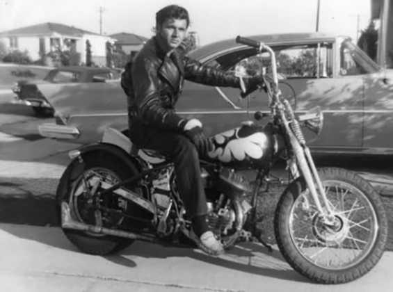 1950's Harley Flathead Bobber