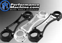 Performance Machine Harley Fork Braces