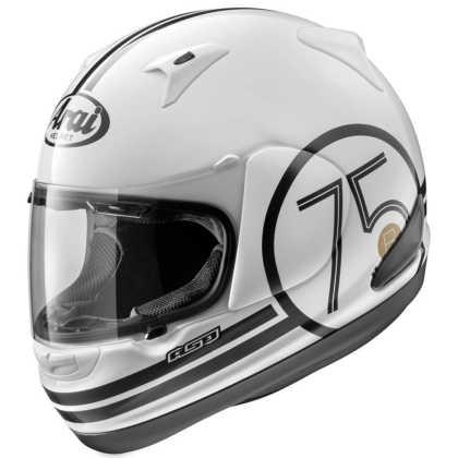 Arai RX-Q 75 White Helmet