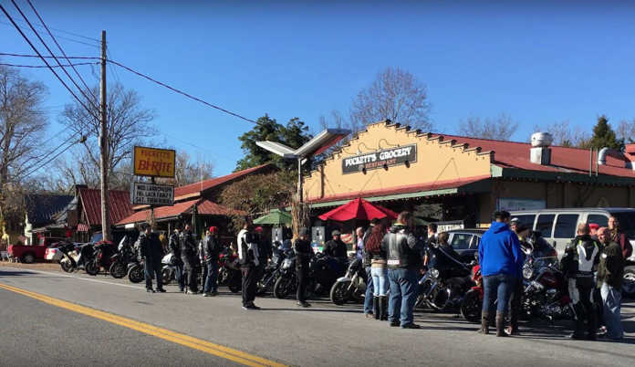 Group Motorcycle Ride Meetup