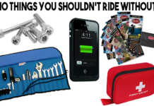Ten Items You Shouldn't Ride a Motorcycle Without