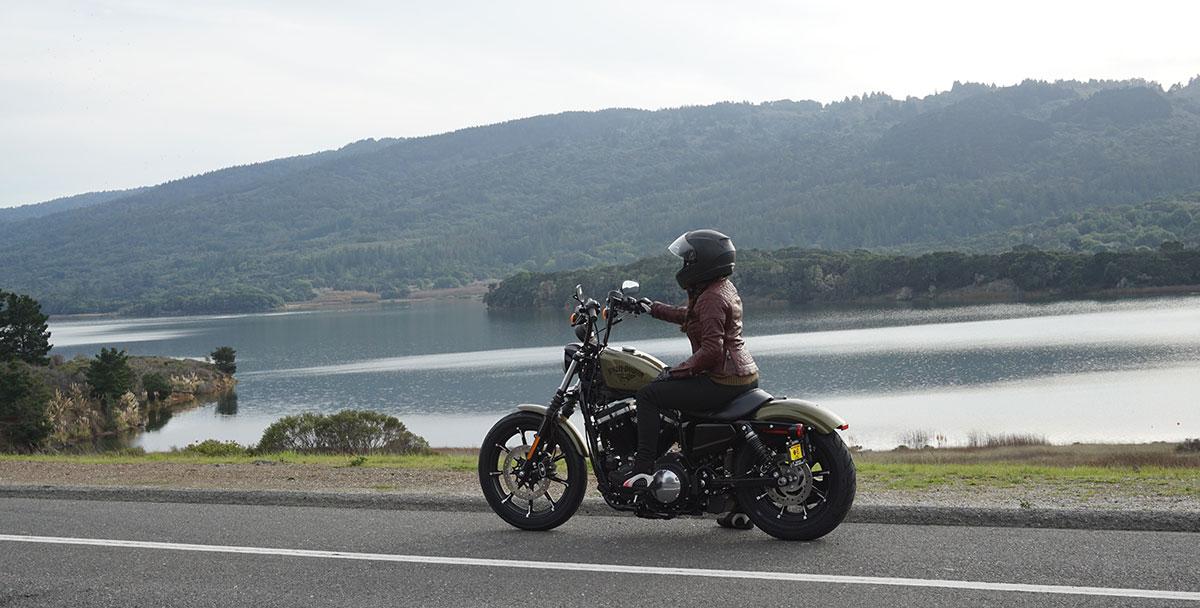 Harley Davidson Iron 883 Sportster Riding