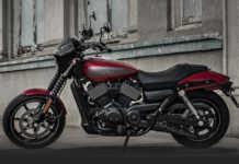 2017 Harley Street 750