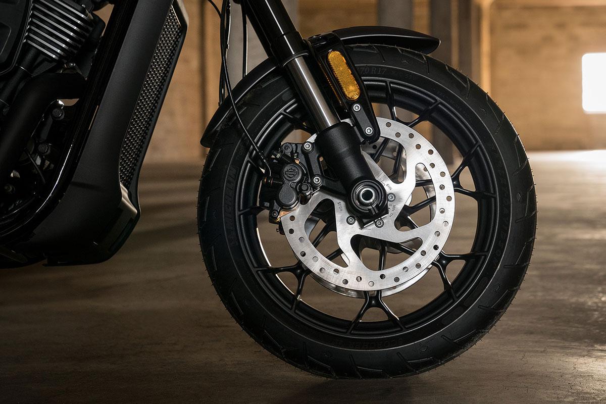 2017 Hd Street Rod 750 Brakes