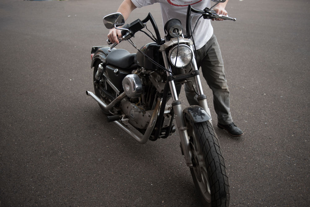 Harley Ironhead Sportster