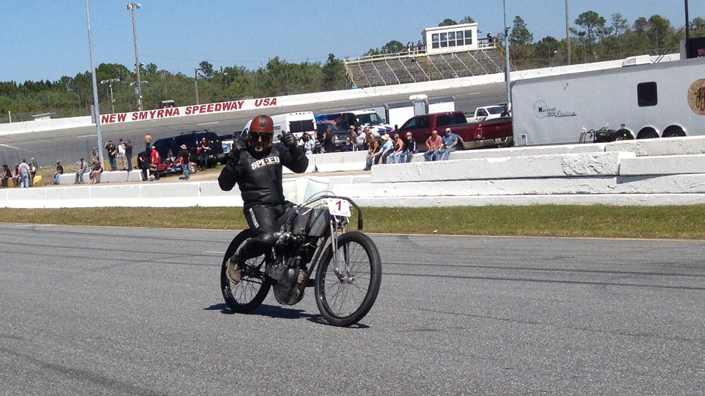 New Smyrna Speedway Sons of Speed Race
