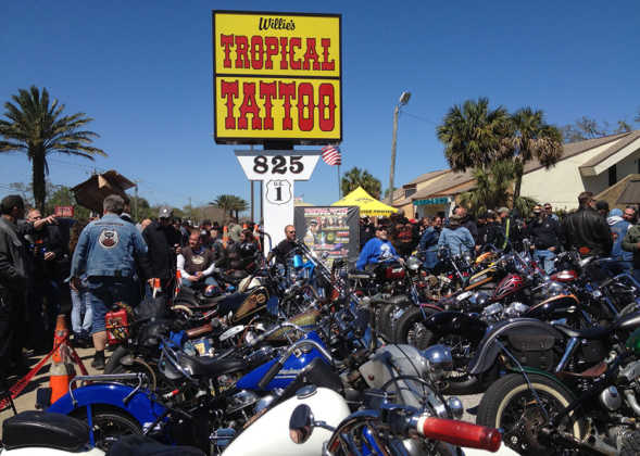 Willie's Tropical Tattoo Chopper Show 2017
