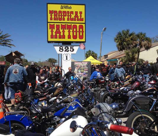 Willies Tropical Tattoo Bike Show
