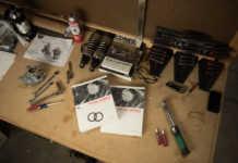 Harley Davidson work bench repair