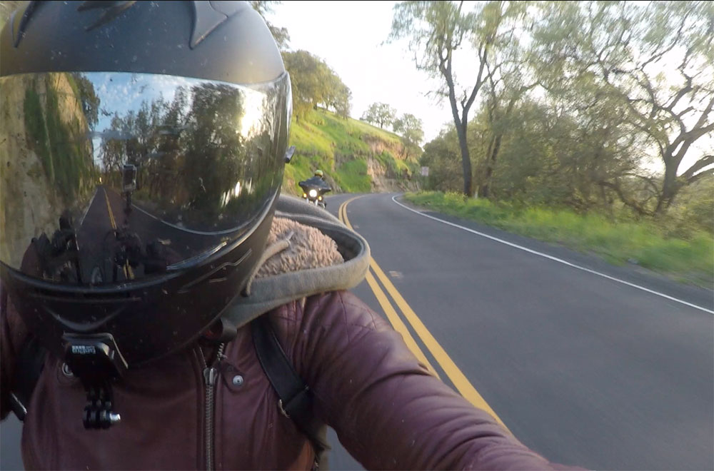 Motorcycle Commute with GoPro