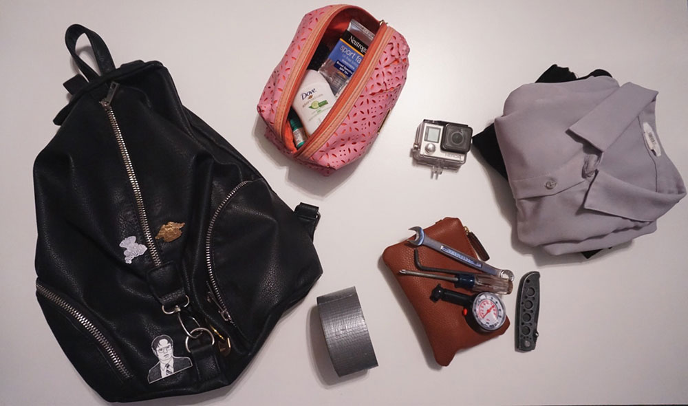 How to pack for Motorcycle Commute