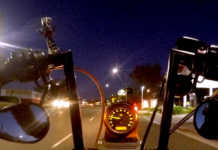 How to ride a motorcycle at night