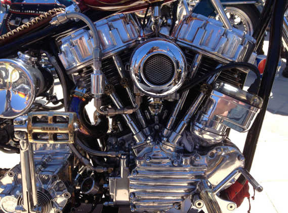 Full Throttle Boardwalk Bike Show