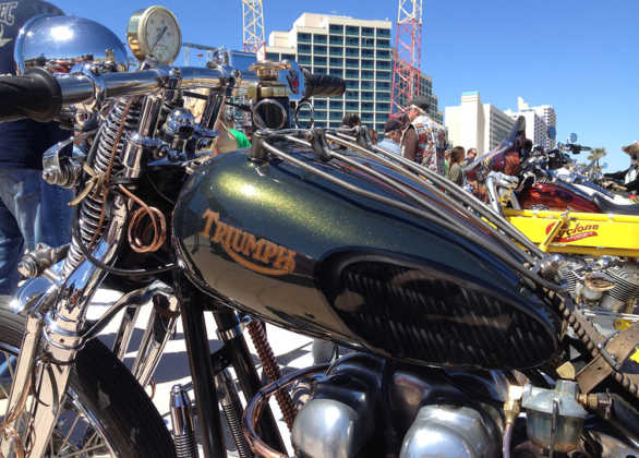 Full Throttle Boardwalk Bike Show Triumph Motorcycle