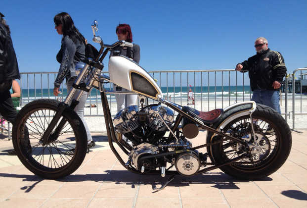 Full Throttle Boardwalk Bike Show Chopper