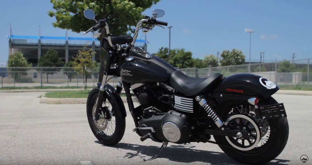 Stock Harley Dyna Seat